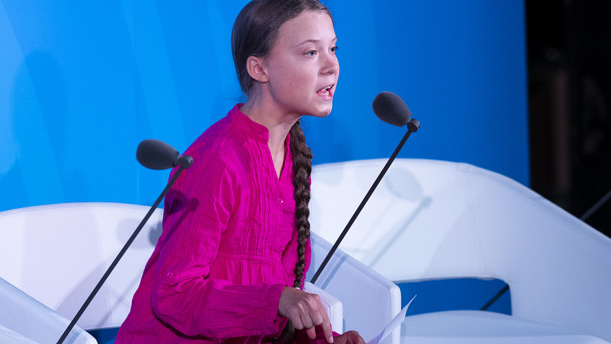 Greta Thunberg views her Autism as a Superpower