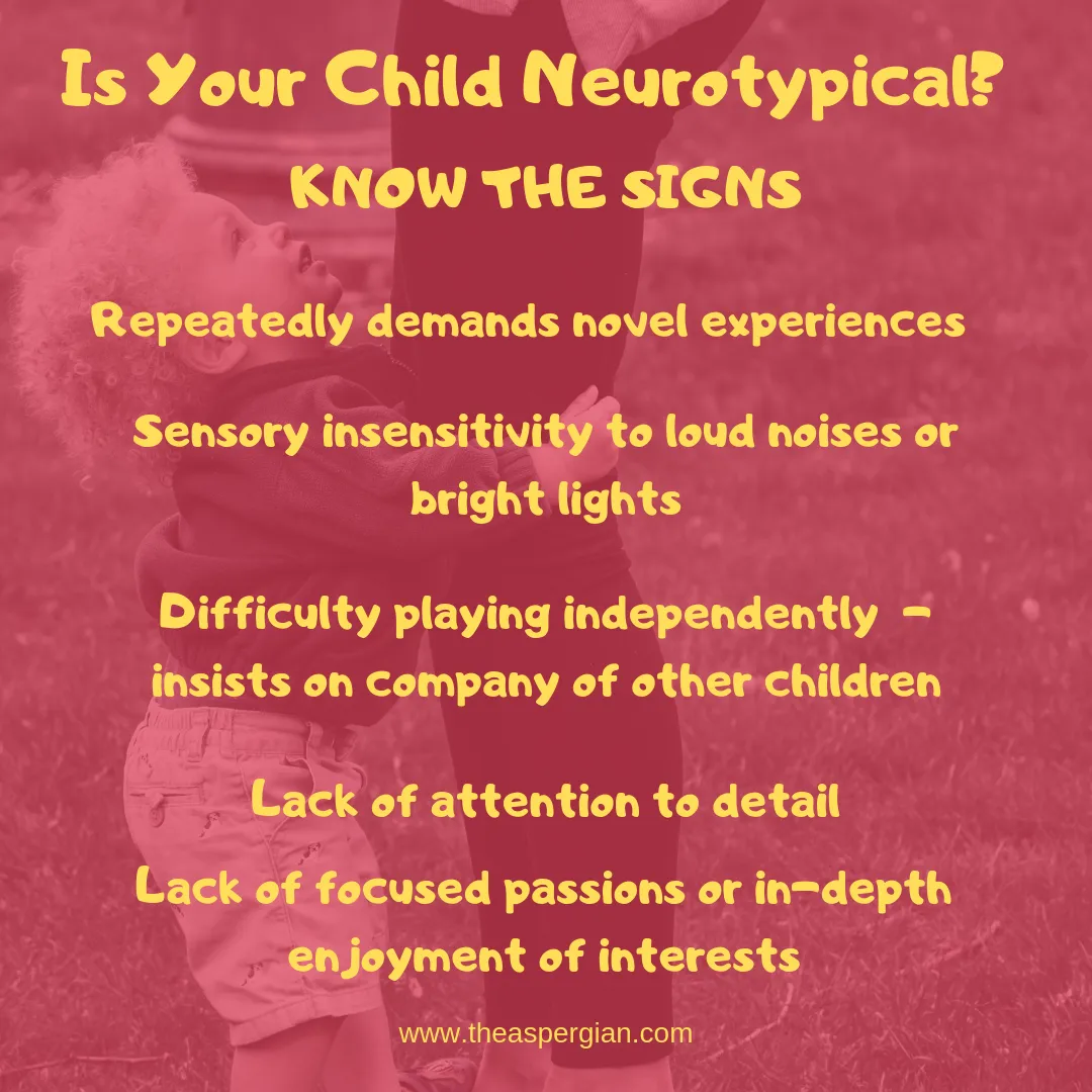 Is Your Child Neurotypical?  Know the Signs