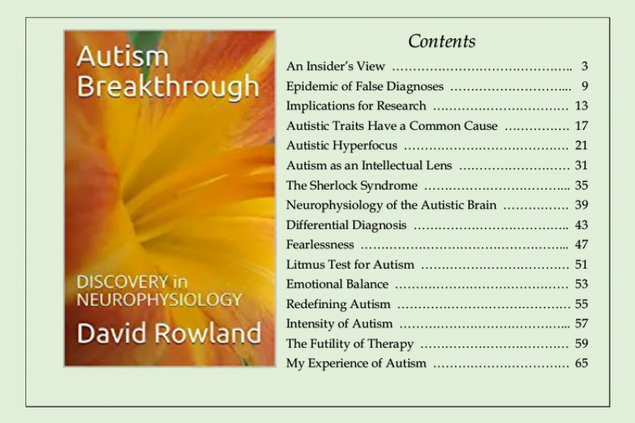 Autism Breakthrough:  Discovery in Neurophysiology